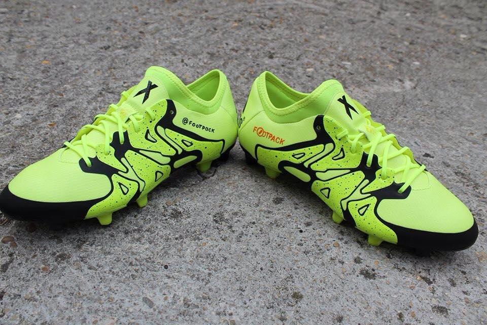 chaussure Football Crampon Argent Jaune X15 Noir X15 Adidas YW2IDE9H