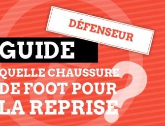 Guide : les chaussures de foot pour un défenseur