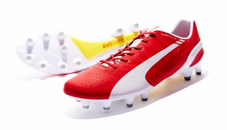 puma-evospeed-rouge-blanc-arsenal