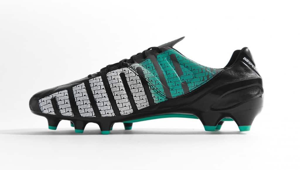 chaussure-puma-evospeed-cuir-noir-turquoise-3