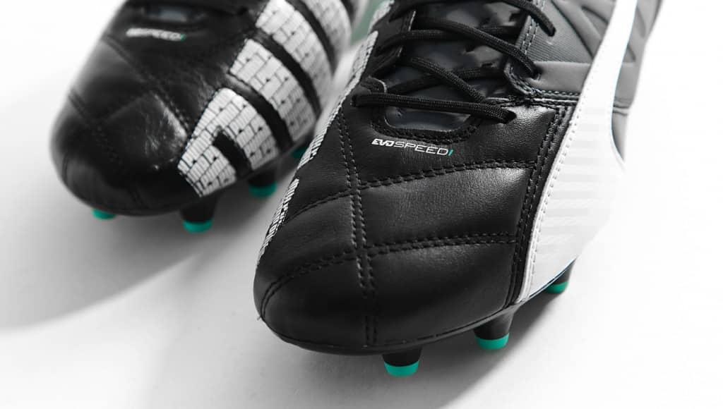 chaussure-puma-evospeed-cuir-noir-turquoise-4