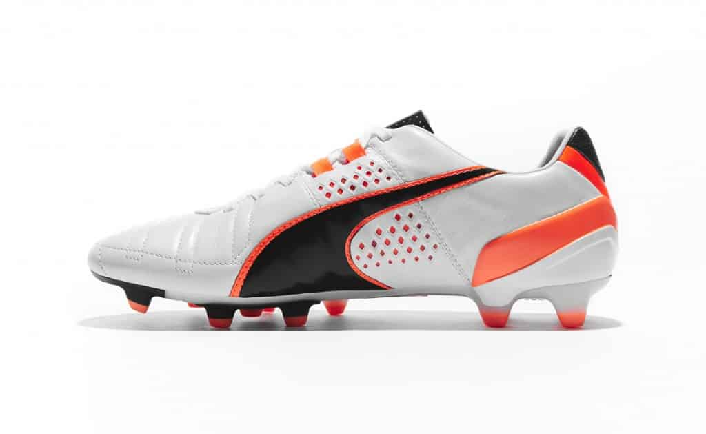 chaussure-puma-king-II-Blanc-Noir-Orange-2