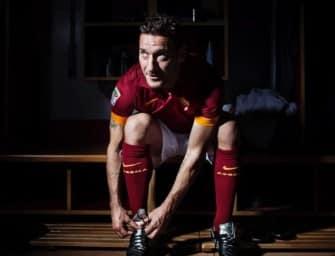 Les chaussures de … Francesco Totti