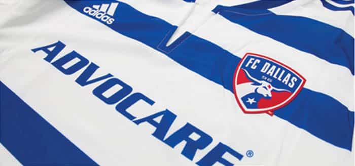 Maillot MLS 2015 - FC Dallas