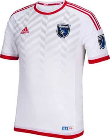 Maillot MLS 2015 - San Jose Earthquakes