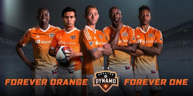 Maillot MLS 2015 - Houston Dynamo