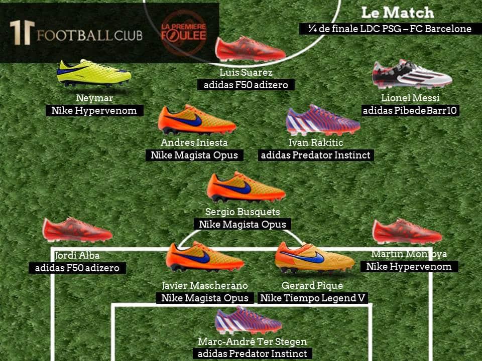 LDC PSG FC Barcelone