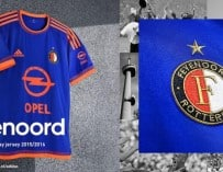 Le maillot away  2015-2016 du Feyenoord