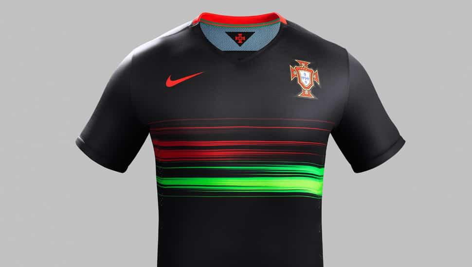Comme l'équipe de France, le Portugal va évoluer avec un nouveau maillot extérieur pour 2015, maillot que l'on vous propose de découvrir sur APP.