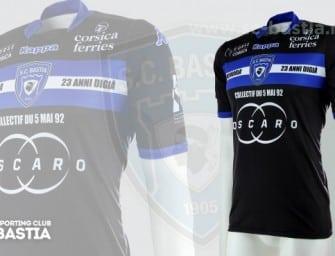 Un maillot en mémoire des victimes de Furiani