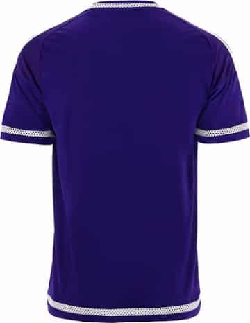 Découvrez le nouveau maillot domicile d'Anderlecht, signé adidas, pour la saison 2015-2016 du championnat de Belgique.