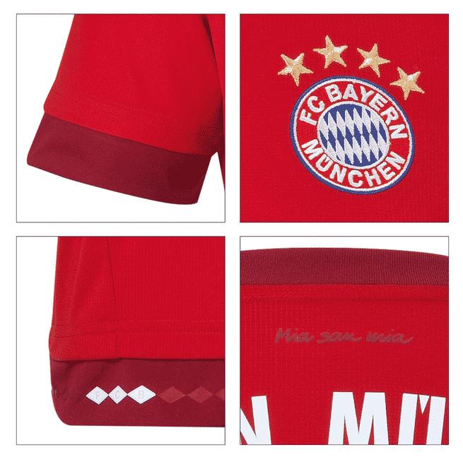 Champion d'Allemagne et demi-finaliste de la Ligue des Champions, le Bayern Munich vient de dévoiler son nouveau maillot domicile pour la saison 2015-2016