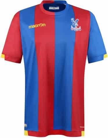 Maillot Crystal Palace 2015-2016