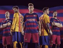 Nike dévoile les maillots 2015-2016 du FC Barcelone
