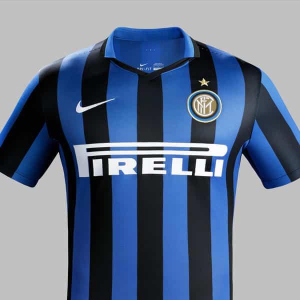 Après le PSG et le Barça, l'équipementier américain Nike vient de dévoiler le nouveau maillot domicile 2015-2016 de l'Inter Milan.