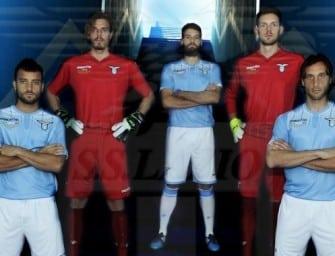 Le maillot domicile 2015-2016 de la Lazio Rome