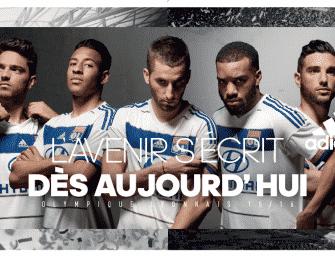 Les maillots 2015-2016 de l'Olympique Lyonnais