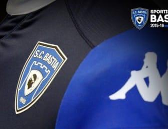 Kappa dévoile le maillot domicile du SC Bastia 2015-2016