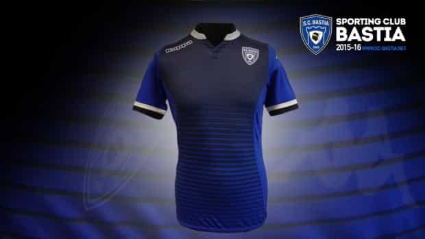 Découvrez le nouveau domicile du SC Bastia pour la saison 2015-2016. Un maillot qui sera porté pour le match de la 37ème journée face à Caen.