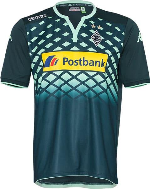 3ème du championnat allemand cette saison, le Borussia Monchengladbach et Kappa son équipementier viennent de dévoiler les maillots 2015-2016 du club