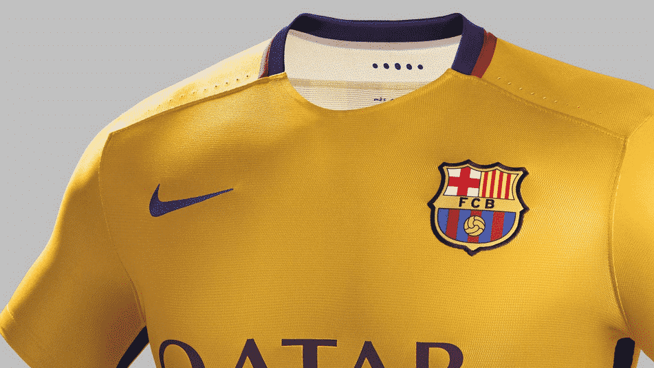nike d voile les maillots 2015 2016 du fc barcelone. Black Bedroom Furniture Sets. Home Design Ideas