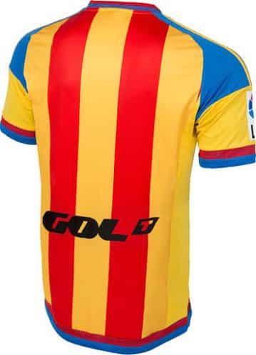 Sous contrat avec adidas, le FC Valence vient de dévoiler son nouveau maillot extérieur pour la saison 2015-2016.