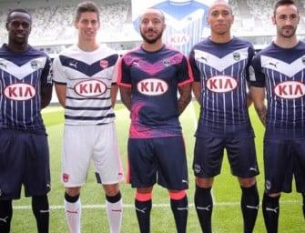 Puma dévoile les maillots 2015-2016 des Girondins de Bordeaux