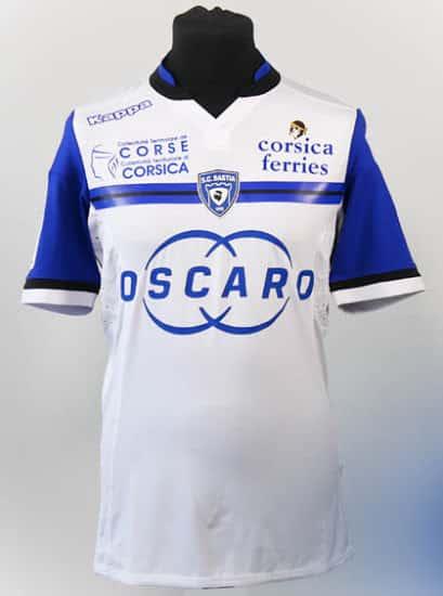 Découvrez les nouveaux maillots du SC Bastia pour la saison 2015-2016. Des maillots conçus par Kappa, équipementier du club.