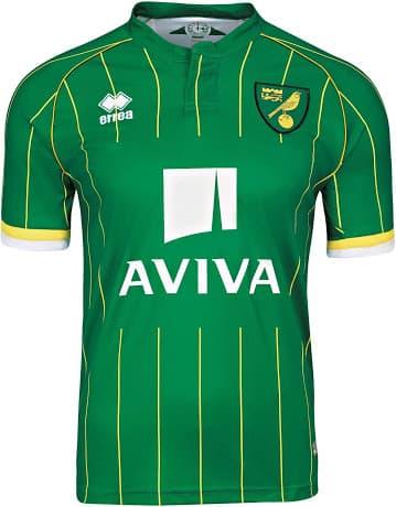 Maillot extérieur Norwich City 2015-2016