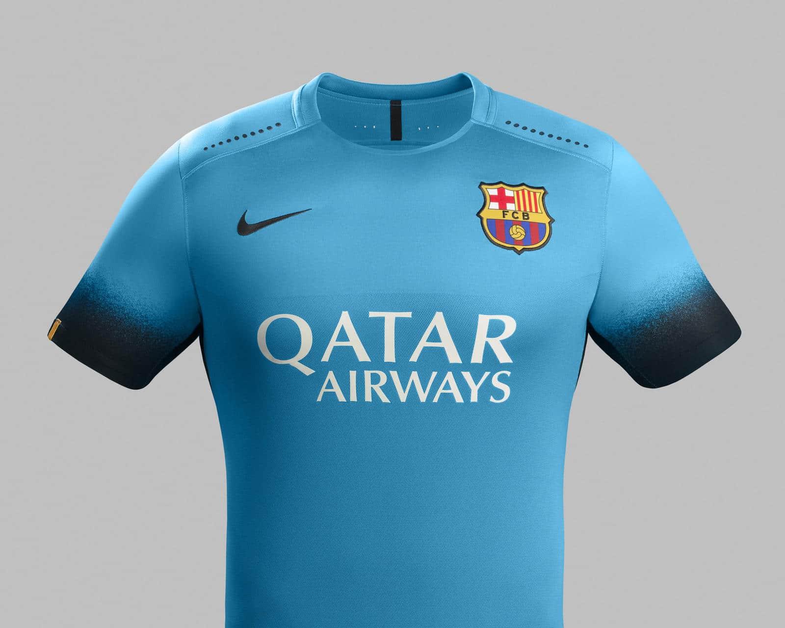 uniformes de soccer Nike - Nike d��voile les maillots 2015-2016 du FC Barcelone