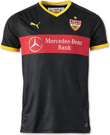 Les maillots 2015-2016 du Vfb Stuttgart