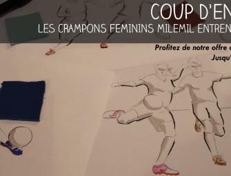 Milemil lance une gamme de chaussures de foot pour les femmes