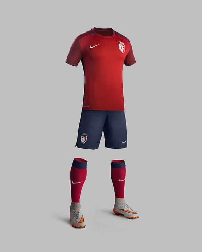 8ème du dernier championnat de France, le Lille Olympiqe Sporting Club (LOSC) vient de dévoiler son nouveau maillot domicile Nike pour la saison 2015-2016