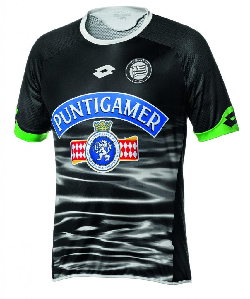 Equipé par Lotto, le club autrichien du Sturm Graz vient de dévoiler ses nouveaux maillots domicile et extérieur pour la saison 2015-2016.