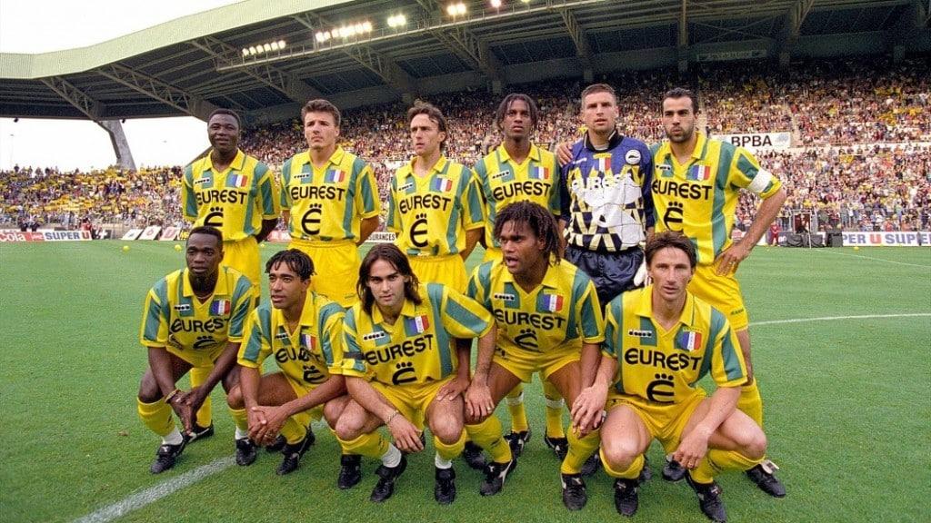 le FC Nantes est sacré champion de France après avoir dominé outrageusement la Division 1