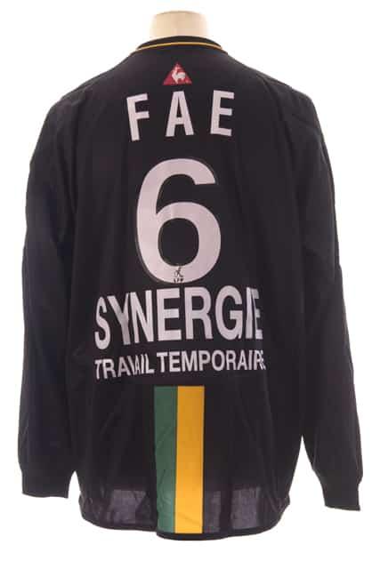 A travers ses maillots, redécouvrez la grande histoire du Football Club de Nantes (FC Nantes)