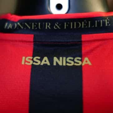 Seule équipe française de la firme Burrda Sport, l'OGC Nice vient de présenter aujourd'hui son nouveau maillot domicile pour 2015-2016