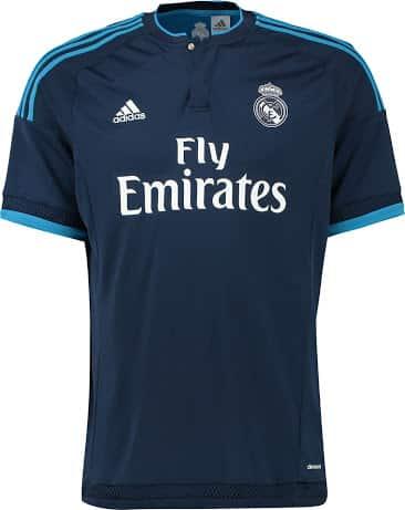 Découvrez les nouveaux maillots domicile, extérieur et third du Real Madrid pour la saison 2015-2016. Des maillots signés adidas