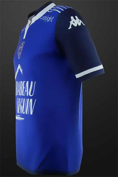 Champion de Ligue 2 et promu dans l'élite cette saison, l'ES Troyes Aube Champagne vient de dévoiler ses maillots 2015-2016 signés Kappa