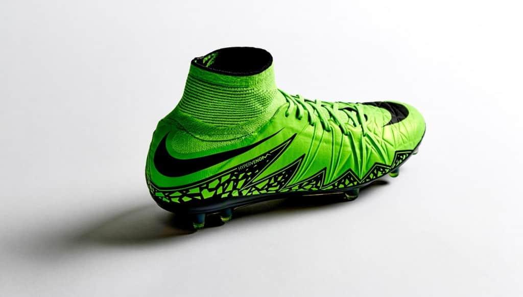 chaussure-football-nike-hypervenom-II-jaune-fluo