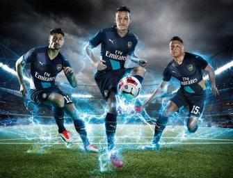 Puma présente les maillots 2015-2016 d'Arsenal