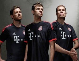 adidas dévoile les maillots 2015-2016 du Bayern Munich
