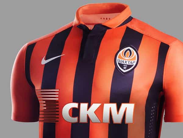 Récent vainqueur de la supercoupe d'Ukraine, le Shakhtar Donetsk vient de dévoiler avec Nike son équipementier ses nouveaux maillots pour 2015-2016.