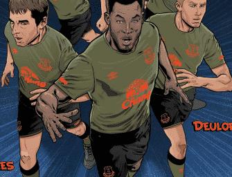 Umbro présente les maillots 2015-2016 d'Everton