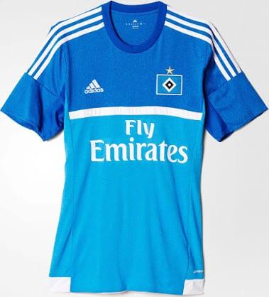Équipé par adidas, le club d'Hambourg vient de dévoiler ses nouveaux maillots pour la saison 2015-2016.