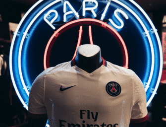 Le maillot extérieur 2015-2016 du Paris SG par Nike