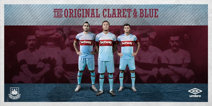 Sponsorisé par Umbro, West Ham United vient de dévoiler ses nouveaux maillots domicile et extérieur pour la saison 2015-2016.