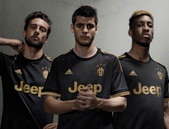 adidas lance les maillots 2015-2016 de la Juventus Turin