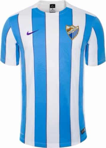 9ème du dernier championnat d'Espagne, Malaga vient de dévoiler avec Nike son équipementier ses nouveaux maillots pour 2015-2016