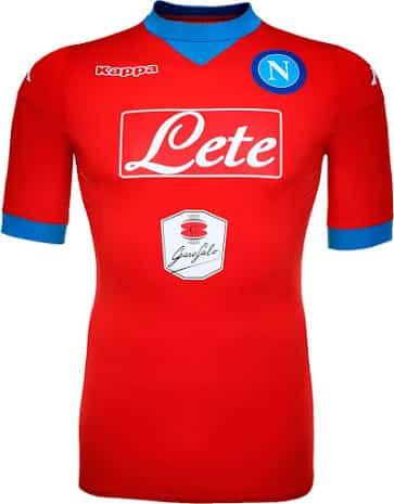 Pour la saison 2015-2016, Naples et son équipementier Kappa viennent de dévoiler les maillots du Napoli.